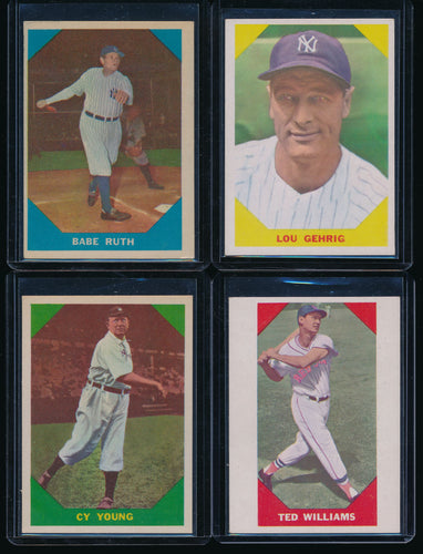 1960 Fleer Baseball Complete Set Group Break #1 (Limit 8)