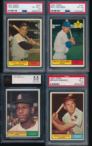 1961 Topps Baseball Complete Set Group Break #4