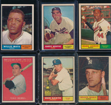 Load image into Gallery viewer, 1961 Topps Baseball Complete Set Group Break #4
