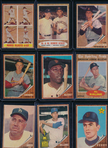 1962 Topps Baseball Complete Set Group Break #4