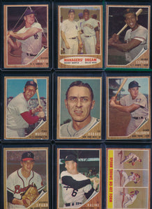 1962 Topps Baseball Complete Set Group Break