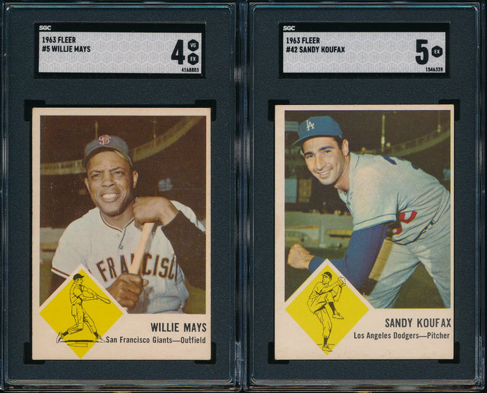 1963 Fleer Complete Set Group Break #3 (Limit 7)