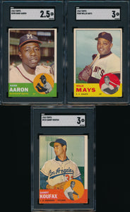 1963 Topps Complete Set Group Break #7