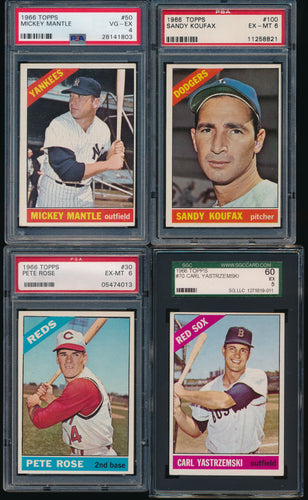 1966 Topps Baseball Complete Set Group Break #4