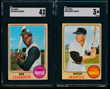 Load image into Gallery viewer, 1968 Topps Complete Set Group Break