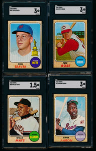 1968 Topps Complete Set Group Break