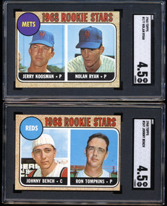 1968 Topps Complete Set Group Break #9 Low to Mid Grade (Limit 10)