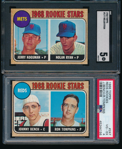 1968 Topps Complete Set Group Break #7