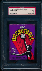1972 Topps Basketball Wax Pack (10 spot break) #1