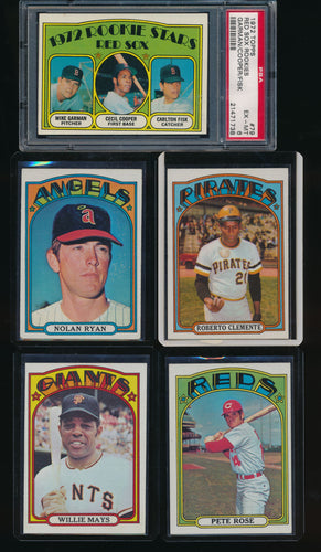 1972 Topps Baseball Complete Set Group Break #4