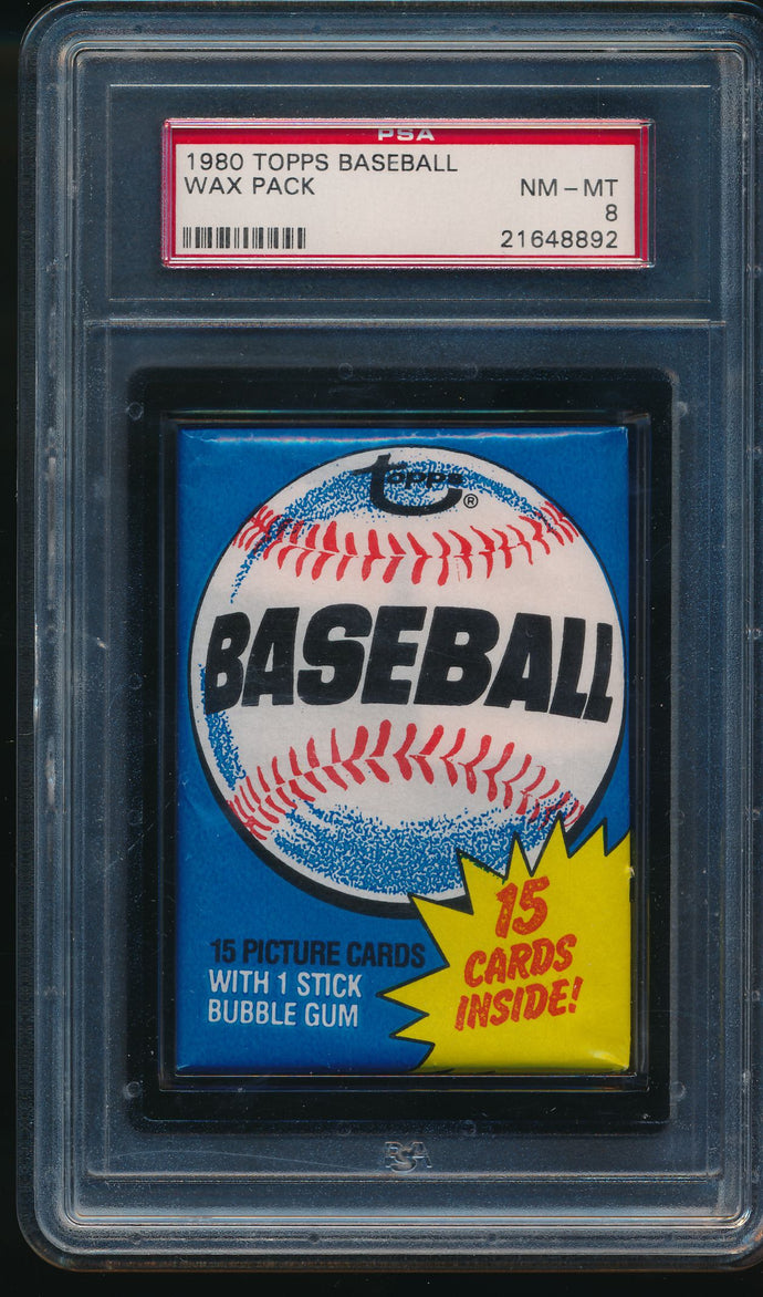 1980 Topps Baseball Wax Pack Group Break (15 Card Break) #1