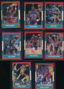 1986 Fleer Basketball Compete Set Group Break (includes stickers) Limit 15