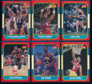 1986 Fleer Basketball Compete Set Group Break #4  (no stickers) Limit 15