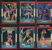 Load image into Gallery viewer, 1986 Fleer Basketball Compete Set Group Break #6 (with stickers) Limit 15