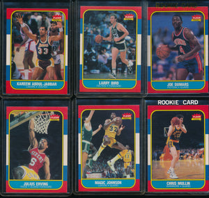 1986 Fleer Basketball Compete Set Group Break #6 (with stickers) Limit 15