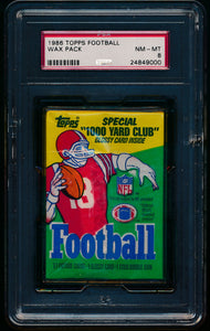 1986 Topps Football Wax Pack Group Break (17 Spots)