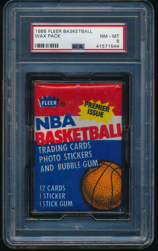 1986 Fleer Basketball Pack Group Break (13 spots)