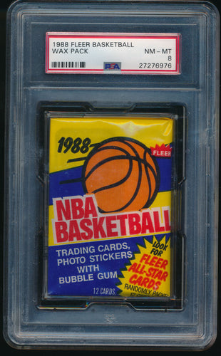1988 Fleer Basketball Pack Group Break (13 spots) #5