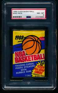 1988 Fleer Basketball Pack Group Break (13 spots) #4
