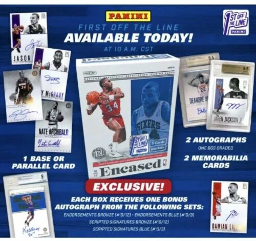 2018-19 Panini Encased NBA FOTL Box Group Break (6 spot break) #2