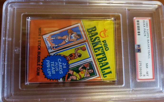 1980-81 Topps Basketball Wax Pack (10 Spot Break) 1