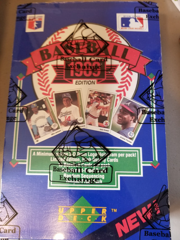 1989 Upper Deck Baseball Group Box Break