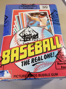 1982 Topps Baseball Wax Box Group Break (36 spots)