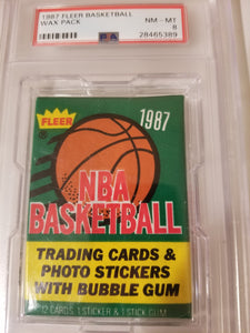 1987 Fleer Basketball Pack Group Break (13 spots)
