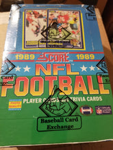Load image into Gallery viewer, 1989 Score Football Group Box Break (SALE)
