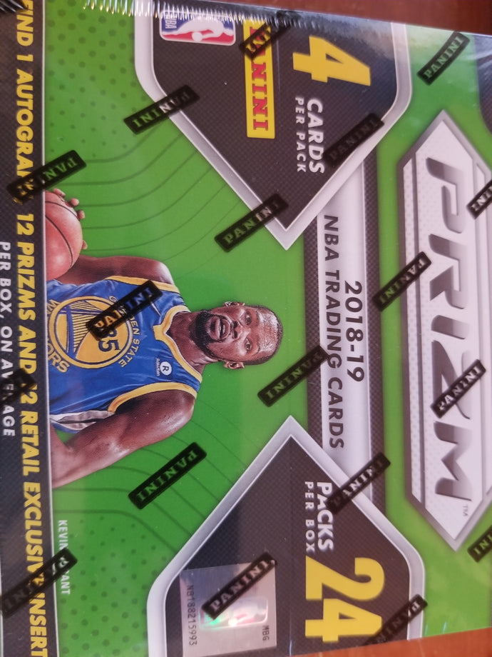 2018-19 Prizm Retail Box Group Break (24 spot)