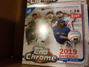 2019 Topps Chrome Update Baseball ~ Personal Box Break