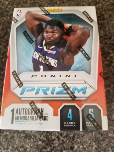 2019-20 Prizm Basketball Blaster Box ~ Rip & Ship