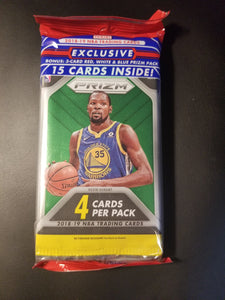 2018-19 Prizm Basketball Cello Pack ~ Rip & Ship