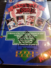 Load image into Gallery viewer, 1989 Upper Deck Baseball Group Box Break #3