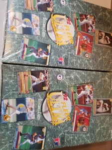 1992 Fleer Ultra Baseball Factory Sealed box lot x2