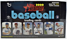 Load image into Gallery viewer, 2020 Topps Heritage Baseball Hobby Box Group Break (24 spots) #1