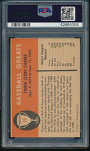 Load image into Gallery viewer, 1961 Fleer Baseball Greats  98 Frank Chance HOF PSA 7 NM 14192