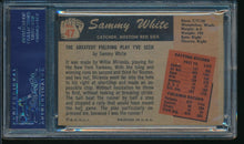 Load image into Gallery viewer, 1955 Bowman  47 Sammy White  PSA 7 NM 14201