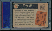 Load image into Gallery viewer, 1955 Bowman  56 Billy Cox  PSA 7 NM 14202