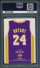 Load image into Gallery viewer, 2018-19 Panini Threads 211 Kobe Bryant Dazzle PSA 10 GEM MINT 14906