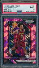 Load image into Gallery viewer, 2018-19 Prizm  170 Collin Sexton Pink Ice RC PSA 9 MINT 14876