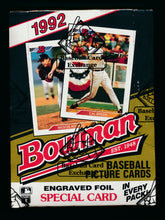 Load image into Gallery viewer, 1992 Bowman Baseball BBCE Box Group Break (36 Spots)