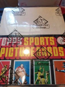 1984 Topps Baseball Rack Pack BBCE Box Group Break (24 spots)