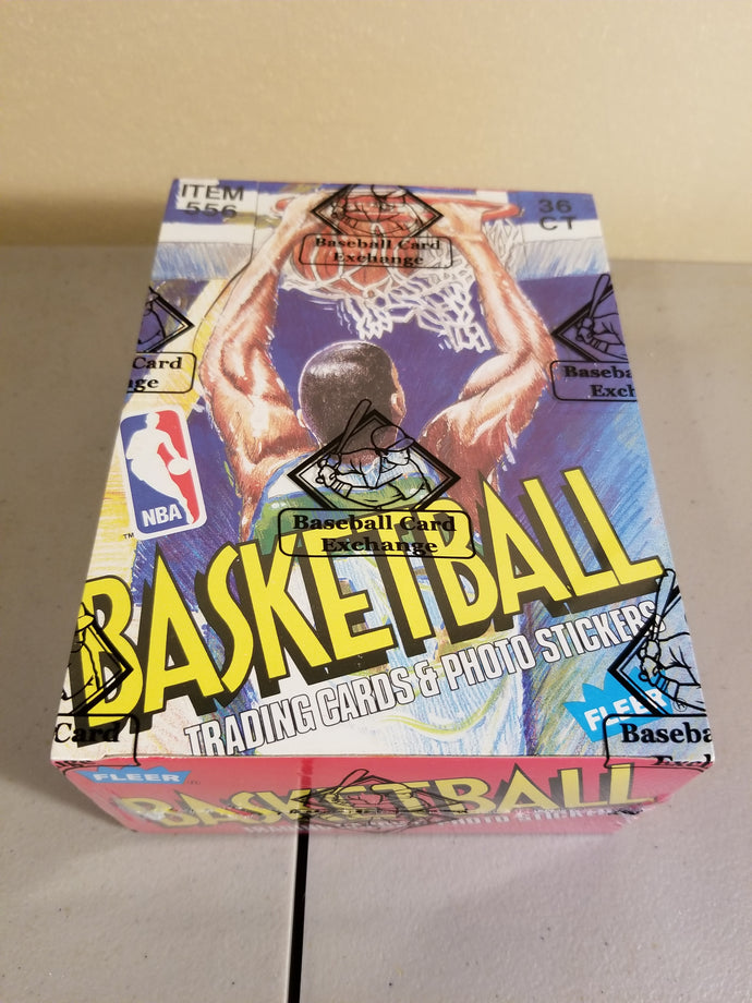 1989-90 Fleer Basketball BBCE Box Group Break (36 spots)