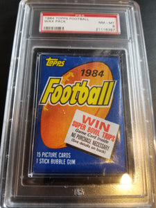 1984 Topps Football Wax Pack Group Break (15 Spots) #3