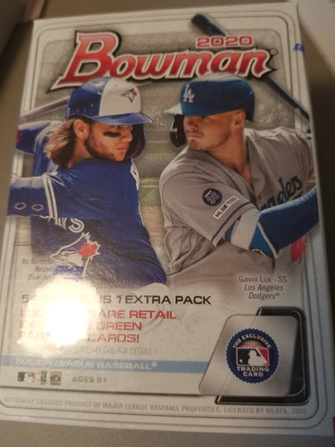 2020 Bowman Baseball Blaster Box ~ Rip & Ship