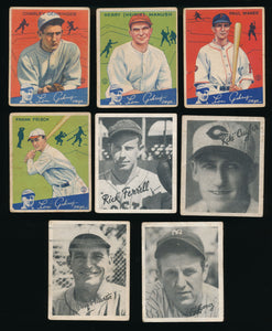 Pre-WWII Mixer 70 Card Break (Limit 7) featuring t205 Ty Cobb