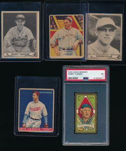 Pre-WWII Mixer Break featuring T206 Mathewson (Limit 7)
