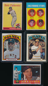Baseball Mini Mixer (20 cards) featuring '58 Mantle and '55 Mays (LIMIT 4)