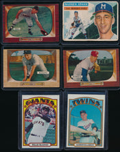 Load image into Gallery viewer, Baseball Mini Mixer (20 cards) featuring '58 Mantle and '55 Mays (LIMIT 4)